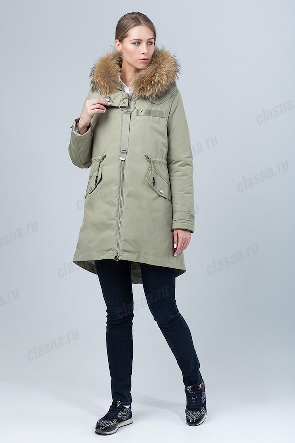 Куртка женская Clasna CW18D-529CH (408)
