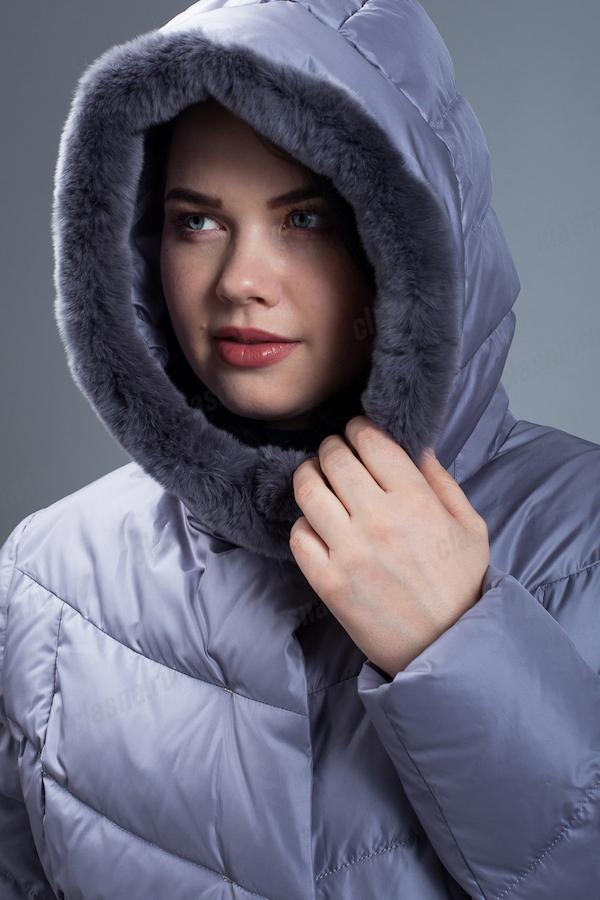 Зимнее пальто Clasna CW19D-106ACQL (W722)