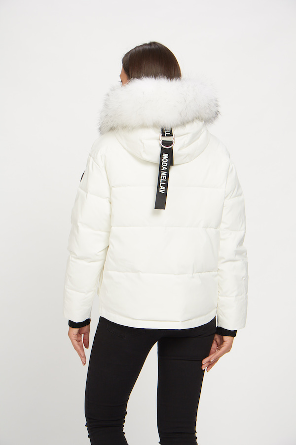 Куртка Vo-Tarun Y020-014 (белый)