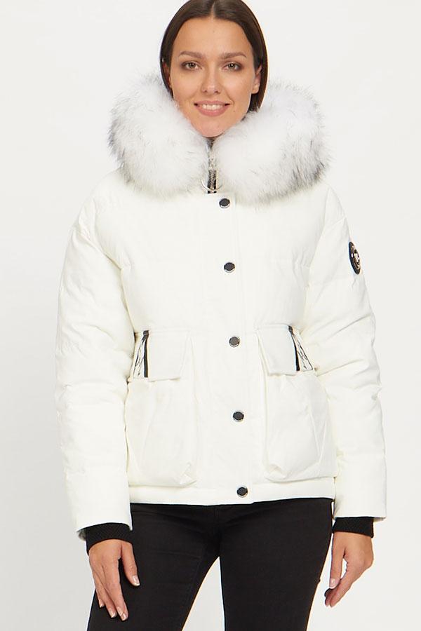 Куртка Vo-Tarun Y019-014 (белый)