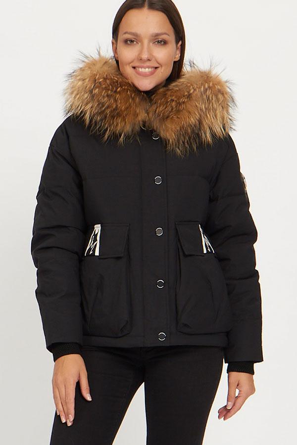 Куртка Vo-Tarun Y019-014 (черный)