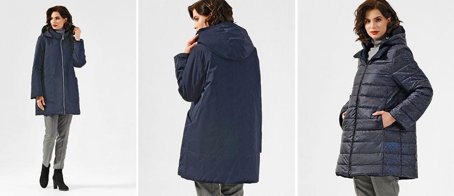 Удлиненная двухсторонняя куртка Dixi Coat 3495-9844 986
