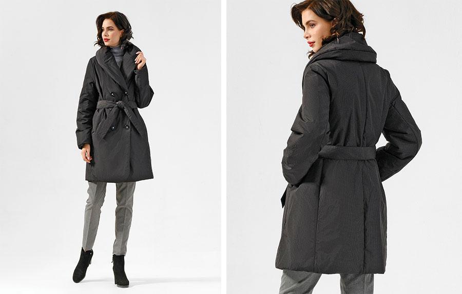 Финское двубортное пальто Dixi Coat 3535-322