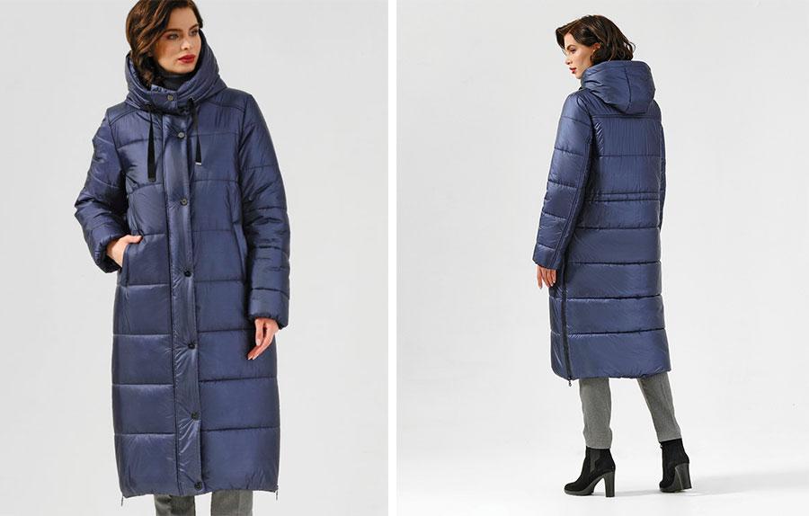 Финское удлиненное пальто Dixi Coat 2565-163